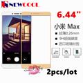 """2pcs/lot For Xiaomi Mi Max M Max Tempered Glass Screen Protector Safety Protective Film on Mi Max M Max MMax (6.44""""inch)"""
