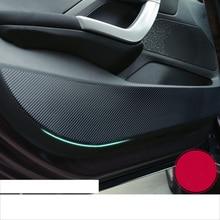 Lsrtw2017 углеродного волокна ПВХ двери автомобиля анти-удар пленка наклейка для peugeot 2008 308 2013 2014 2015 2016 2018 2019 2017