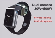 Promotion X8 Bluetooth Smart Watch Display Android 5.1 WiFi GPS 3G Bluetooth Smartwatch Support Sim Card Phone