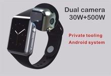Продвижение X8 Bluetooth Smart Watch Дисплей Android 5.1 Wi-Fi GPS 3 Г Bluetooth Smartwatch Поддержка Сим-Карты Телефона