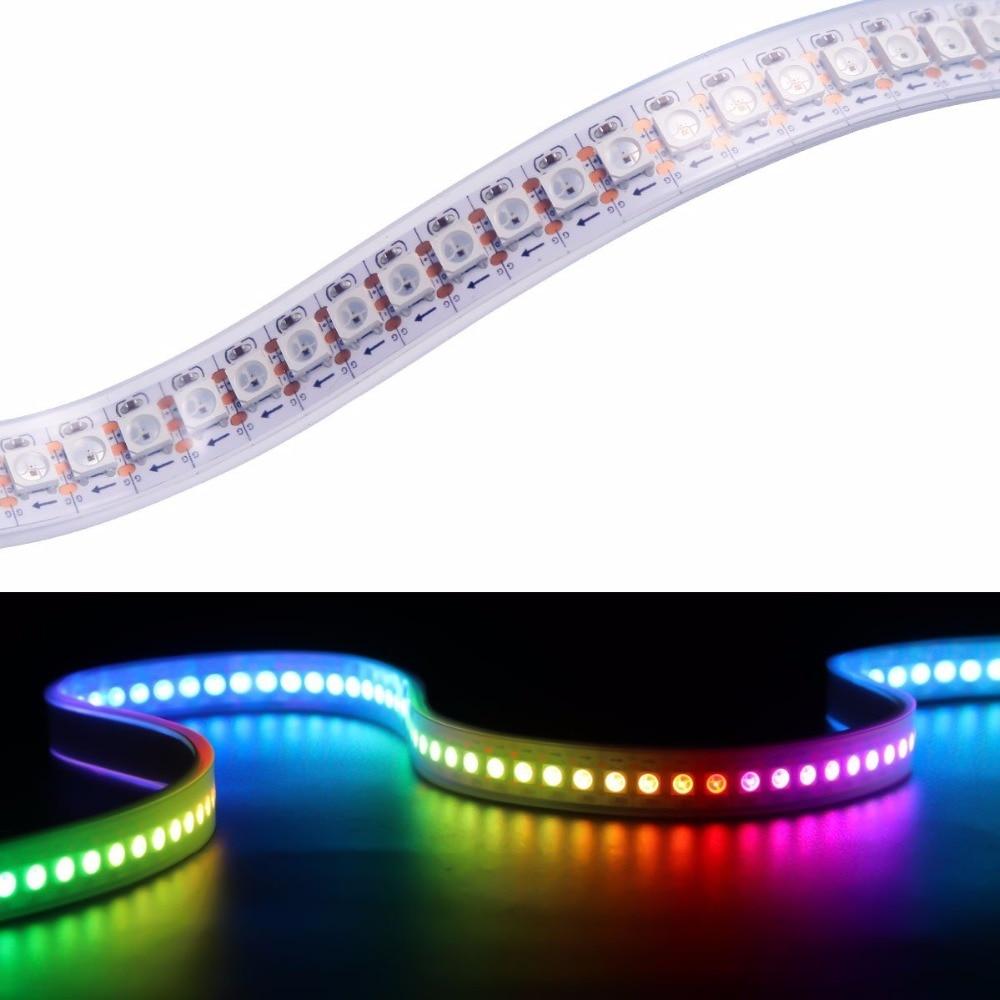 Tiras de Led leds ws2812b chip ws2811 digital Geração de Energia : Mudar