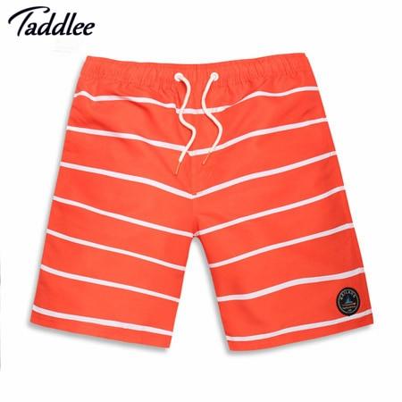 Taddlee Brand Man Swimwear Swimsuit Boxer Trunks Men Quick Dry Beach Shorts Polyester Men Boardshorts Bermuda Plus Big Size XXXL