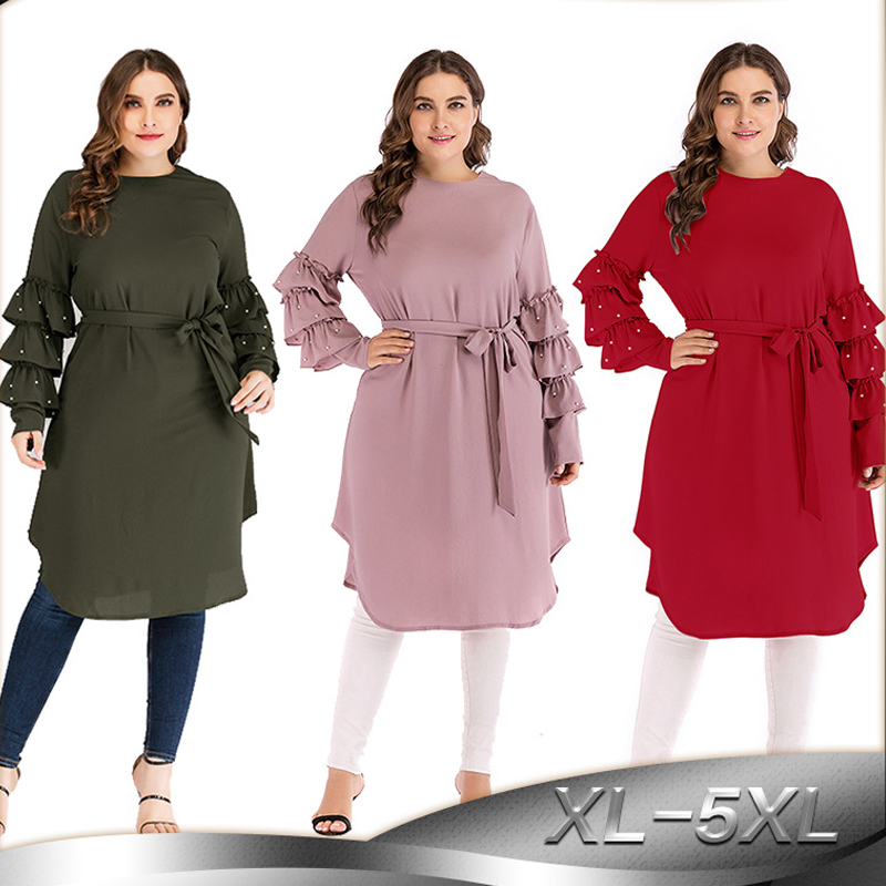 Kaftan Abaya Robe Dubai Arabic Turkey Islamic Hijab Muslim Dress Caftan Abayas For Women Elbise Chiffon Dresses Ramadan Vestidos