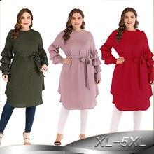 Kaftan Abaya Robe ดูไบอาหรับตุรกีอิสลาม Hijab มุสลิม Caftan Abayas  สำหรับผู้หญิง Elbise ชุด c38e7c5a9
