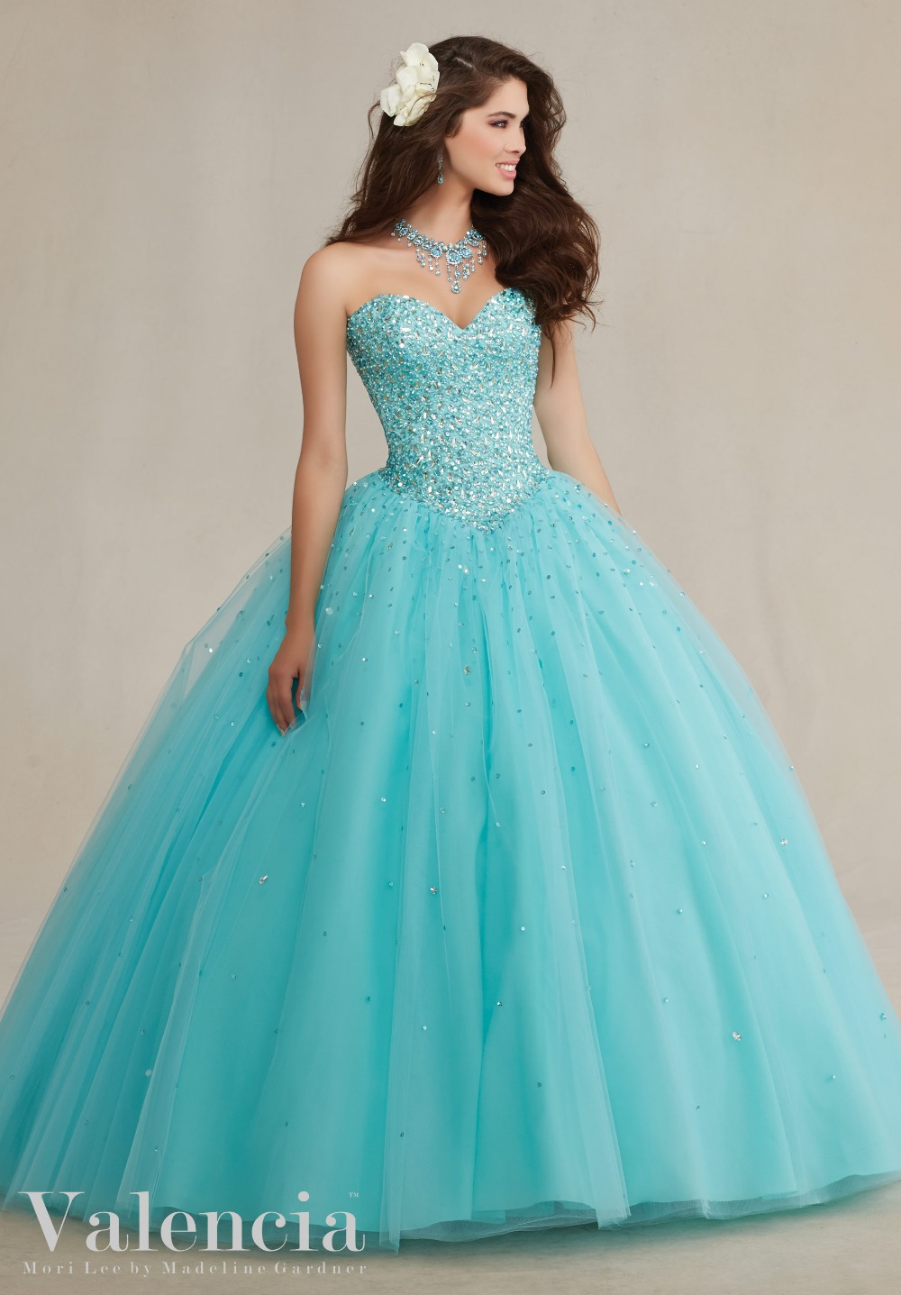 deb19c3c813 2017 New Fashion Pink Mint blue Sweetheart Custom Made Quinceanera Ball Gown  Vestido De Debutantes e 15 Anos-in Quinceanera Dresses from Weddings    Events