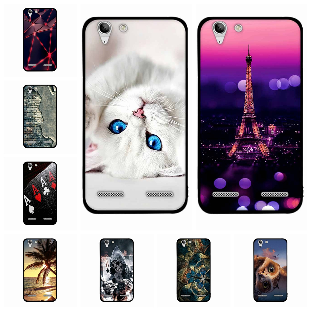 For <font><b>Lenovo</b></font> Vibe K5 K5 Plus <font><b>Case</b></font> Soft TPU Silicone For <font><b>Lenovo</b></font> A6020a40 <font><b>A6020a46</b></font> Cover Scenery Patterned For <font><b>Lenovo</b></font> Lemon 3 Capa image