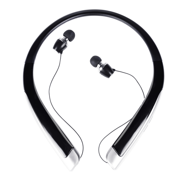 Colar de fones de ouvido de música sem fio bluetooth 4.1 stereo som earbud fones de ouvido neckband handsfree universal para iphone 7