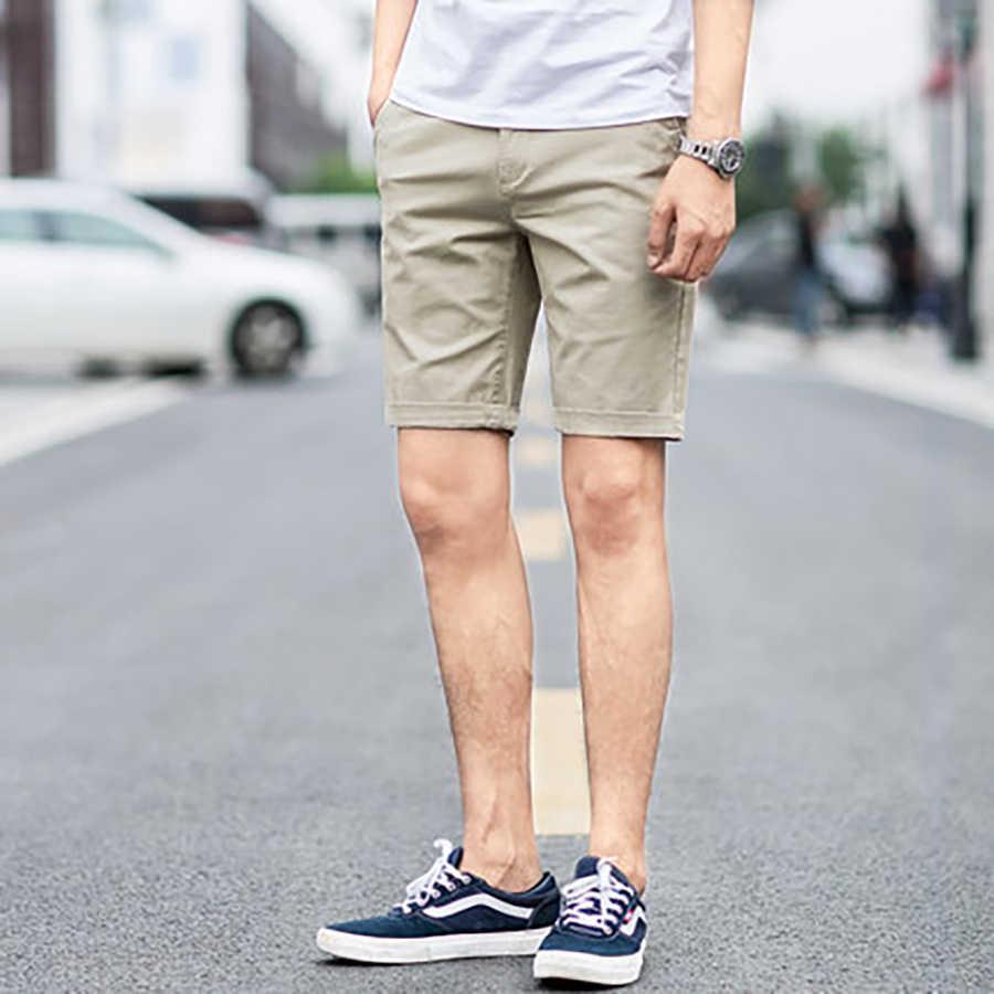 2019 новые накладные карманы х/б мужские шорты полиэстер летние мужские шорты Уличная бермуды Мужская Корейская одежда в стиле бохо 22