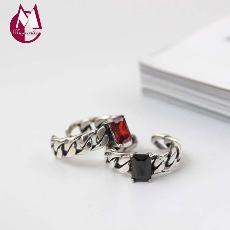 925 Sterling Silver Rings For Women Natural stone Agate Gem Warcraf Ring Female Original Design Wedding Rings Fine Jewelry YR55
