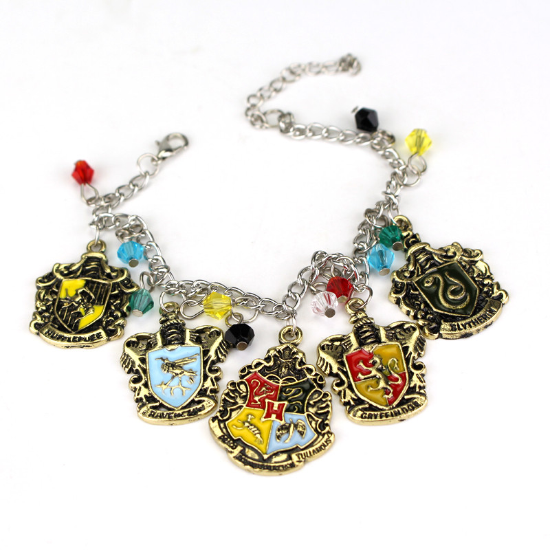 ed03b4e3c Gryffindor/Hufflepuff/Ravenclaw Slytherin Bracelet Gifts For Fashionable  Men And Women Movie Jewelry At A Loss To Win Sales