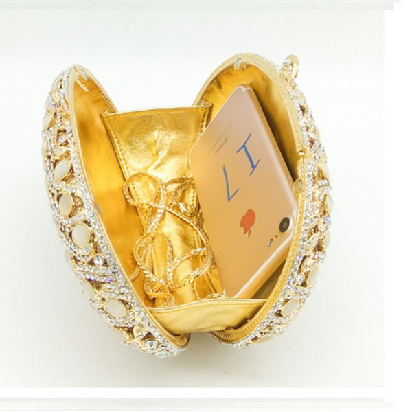 Bourse Or Cristaux Sac Pochette Soirée Diamant Femmes Partie Avec Embrayages Dîner Lady Embrayage De Perle Robe wwSqCgZ