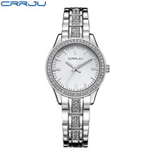 Brand Luxury Women Watches Ladies Casual Quartz Watch Female Clock Silver Stainless Steel Bracelet Dress Watch relogio feminino brand women watch fashion leather thin belt quartz watch ladies luxury bracelet watches female clock relogio feminino joyl