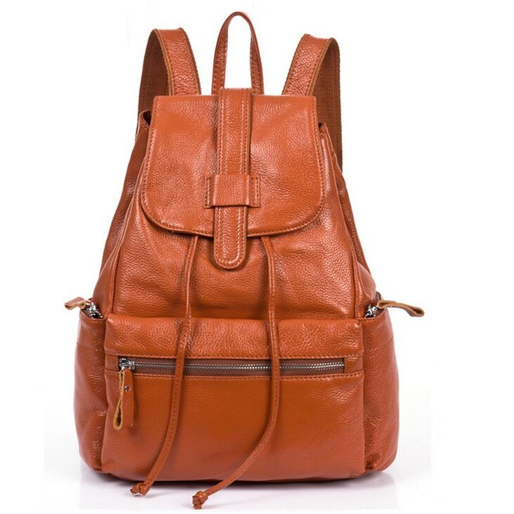 Genuine Leather Backpack Women Designer bags High Quality Shoulder Bags New School Bags For Teenagers Girls sac 2Colors 2017 genuine leather backpack women high quality shoulder bags new school bags for teenagers girls sac a dos mochila feminina