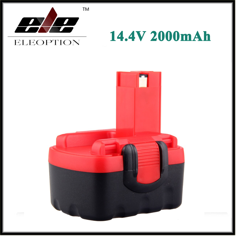 Eleoption 2000mAh 14 4V Battery for Bosch 14 4 Volt BAT038 BAT140 BAT159 BAT040 BAT041