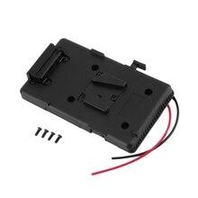Hot!! Battery Back Pack Plate Adapter For Sony V-Shoe V-Mount V-Lock Battery External For Dslr Camcorder Video Light