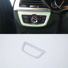 Car Accessories Interior Decoration ABS LHD Head Lamp Adjustment Buttons Cover For BMW X3 2018 Car Styling car accessories interior decoration abs head lamp adjustment buttons cover trims for toyota land cruiser 2016 car styling