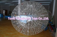 space zorbit ball; inflatable air rolling balloon, hamster human zorb ball