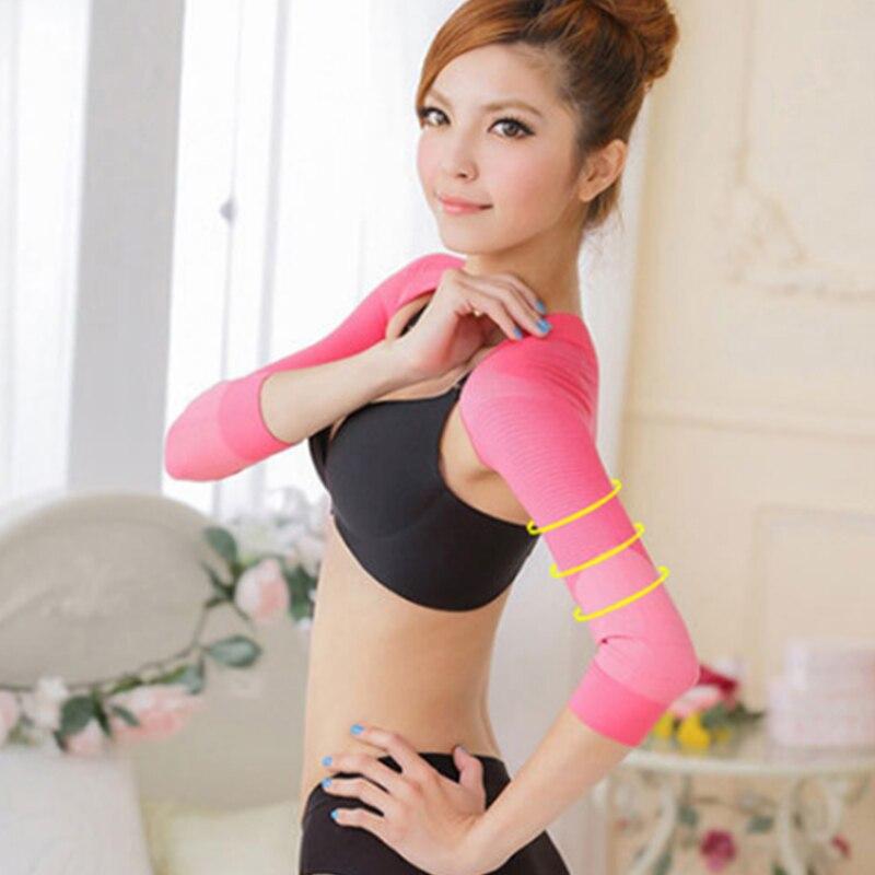 Modelador de brazo para mujer Corrector de hombros para adelgazar ropa interior moldeadora de espalda Humpback previene el Control del brazo modelador
