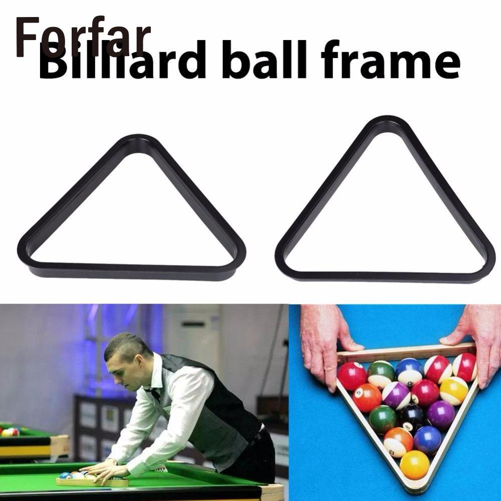 British American Billiards Snooker Pool Table Ball Standard Plastic Rack Repositioning Frame Billard ball frame Accessories
