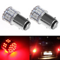 1PC 1157 BAY15D 50 SMD 1206 LED Car Tail Stop Brake Lamp Bulb DC 12V Red Light