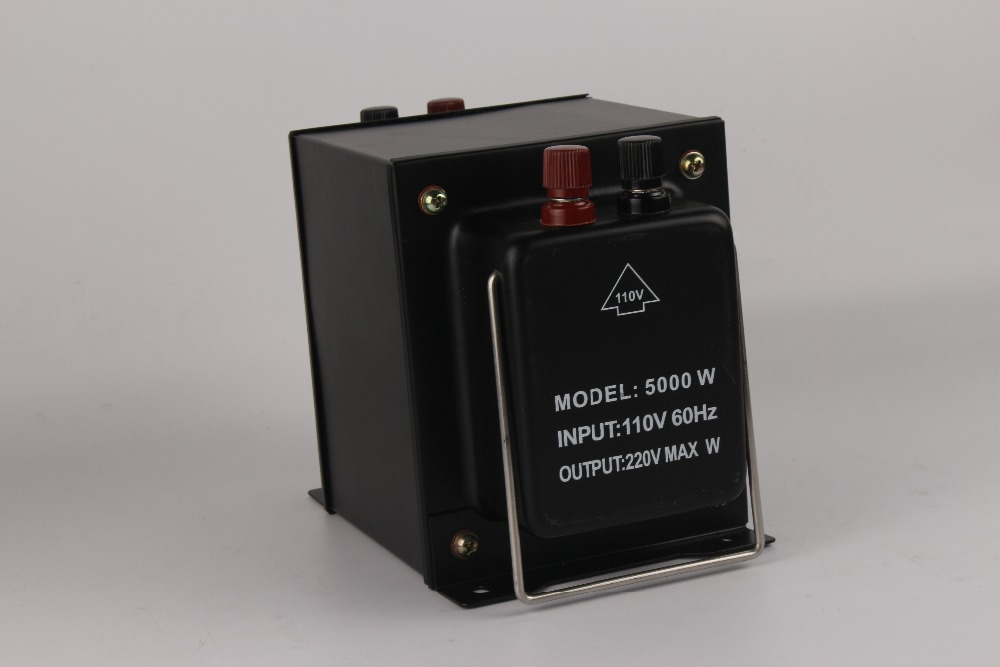 5000w step up&down home use portable type transformer 110v 220v exchanged