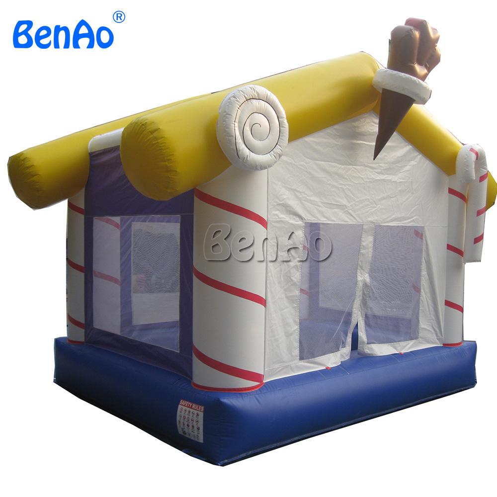 DBB05 New Commercial Christmas Candy Inflatable Bounce