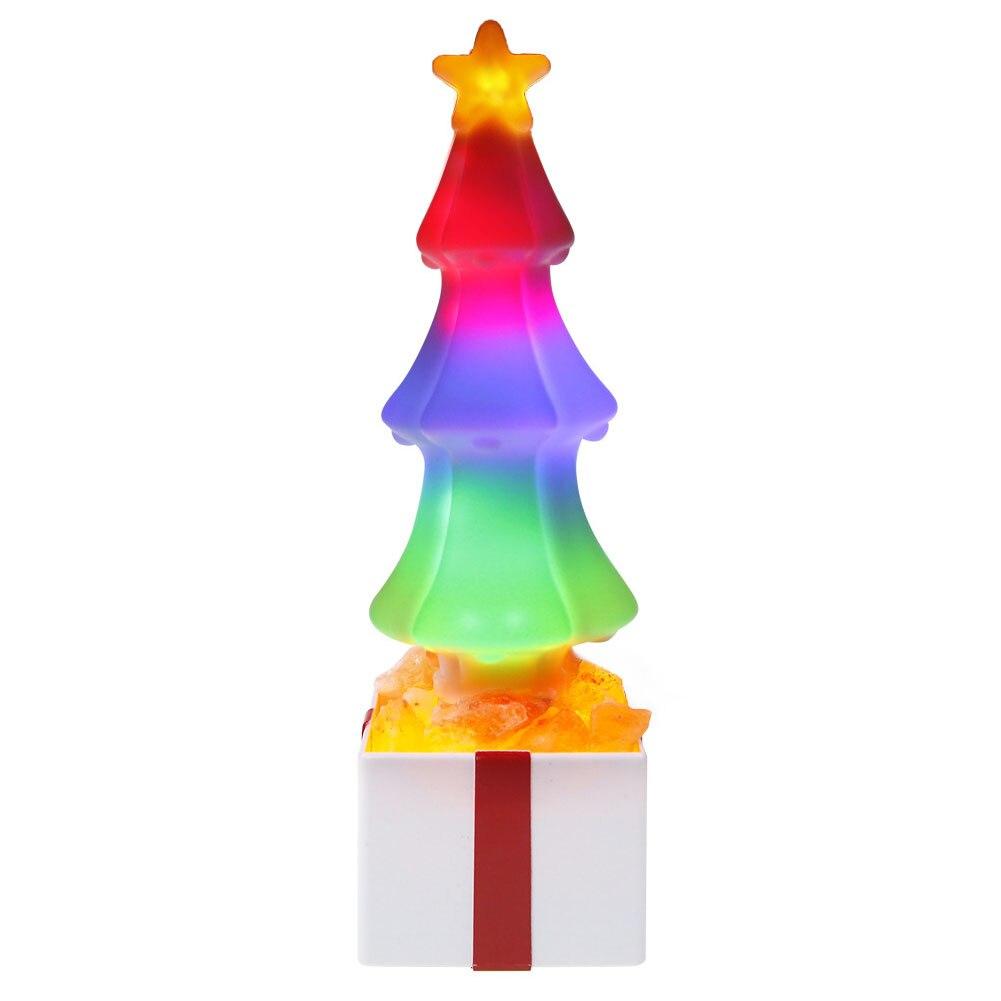 Bedroom Lamp Night Decorative Himalayan Salt Lights Baby Led Christmas Tree Gift USB Holiday Air Purifiing Gradient