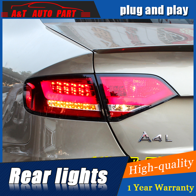 Car Styling LED Tail Lamp for A4 Tail Lights 2009-2012 for A4 Rear Light DRL+Turn Signal+Brake+Reverse LED light car styling led tail lamp for a4 tail lights 2009 2012 for a4 rear light drl turn signal brake reverse led light