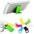 Portátil plegable soporte para teléfono soporte para Teléfono Móvil soporte Universal ajustable Tablet Smartphone Tarjeta de Montaje Para El Teléfono Celular