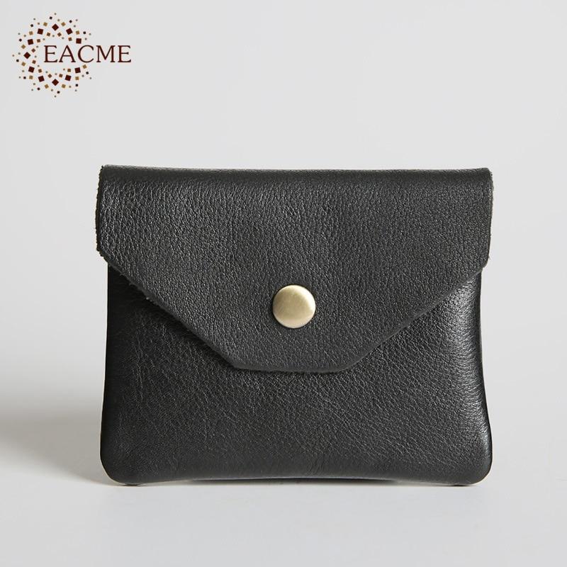 EACME Handmade Old Design Genuine Leather Bank Card Holder Hasp ...