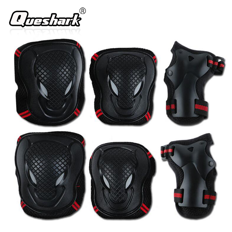 6Pcs/Set Ski Knee Pads & Elbow Pads Kidswomen Men Skating Skateboard Sports Safety Knee Wraps Hand Guard Brace Protector Gear цены онлайн