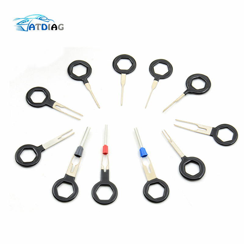 Diagnostic Tools 3/8/11 Pcs Auto Car Plug Circuit Board Wire Harness Terminal Extraction Pick Connector Crimp Pin Back Needle Remove Tool Set Pleasant To The Palate Electrical Testers & Test Leads