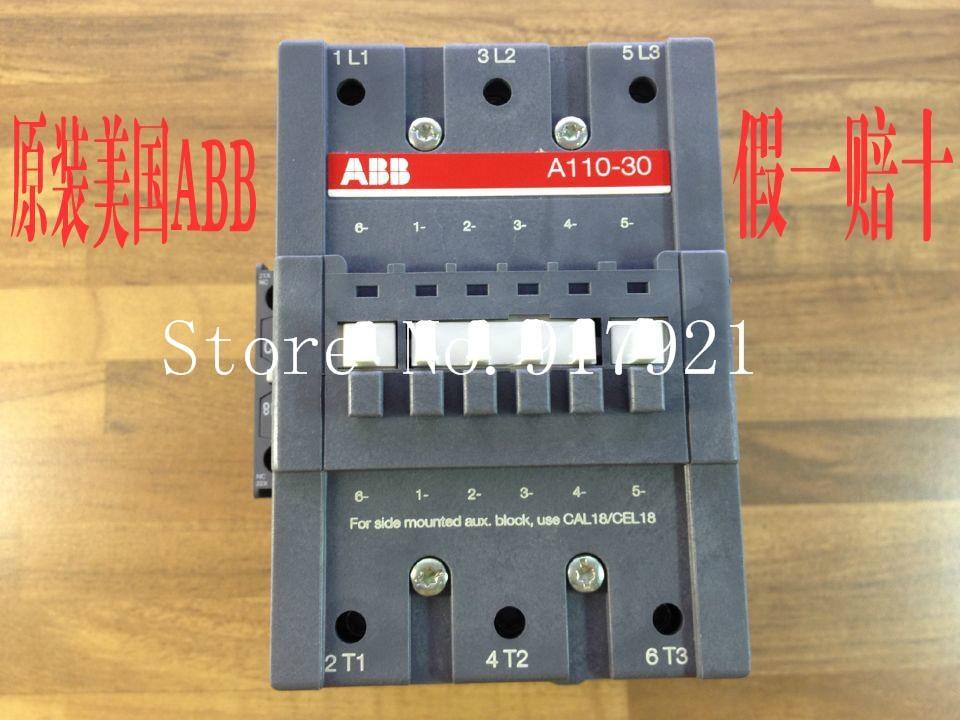 [ZOB] The United States original (Swedish) A110-30-11 A series contactor AC/220-230V genuine original
