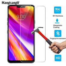 Wangcangli Screen Protector for LG G7 Tempered Glass 9H Protective Cell Phone 2.5D 0.26mm Ultra-thin