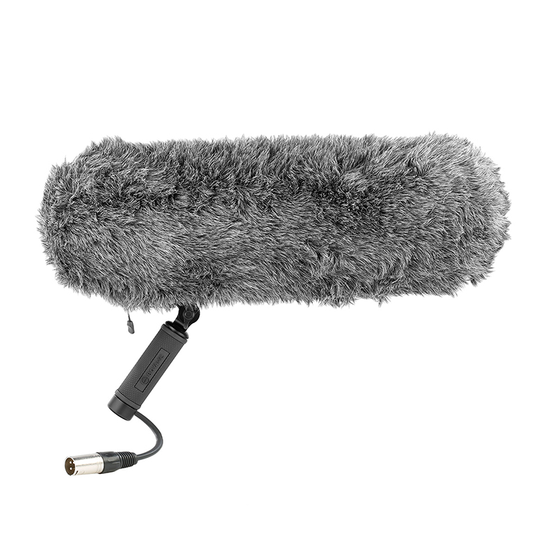 Boya BY WS1000 Blimp Windshield Suspension System for Shotgun Microphones Windscreen with Rycote Shock for DSLR