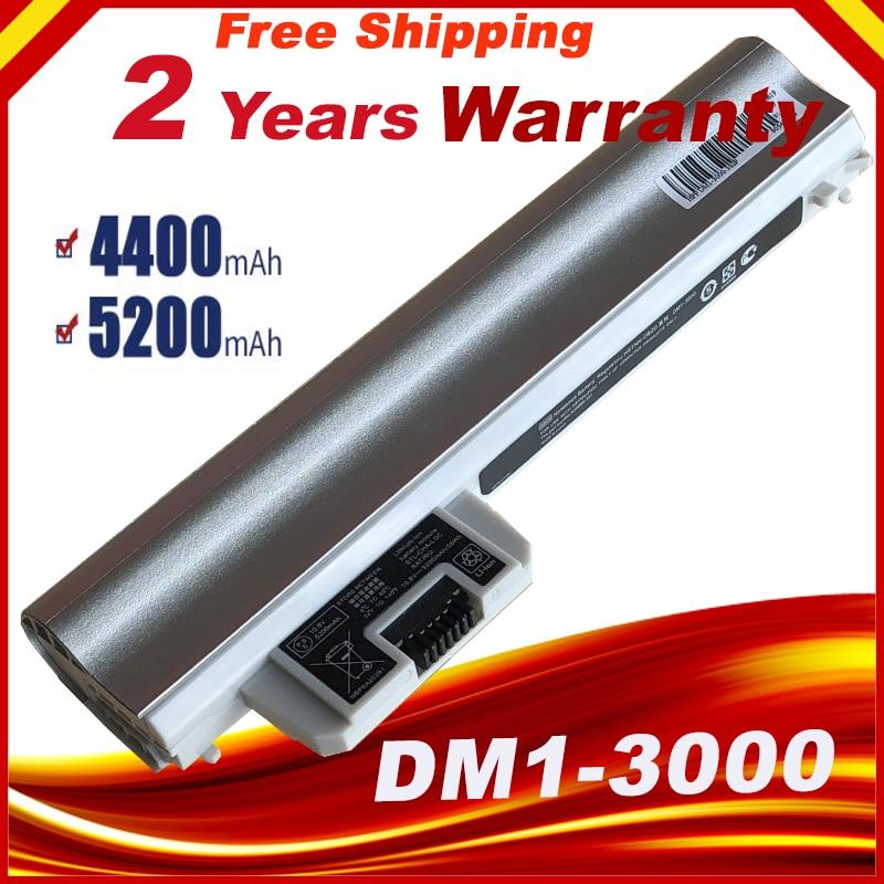 Silver Battery For Pavilion Dm1 3000/3105m/3115m DM1Z-3200 CTO GB06 HSTNN-OB2D HSTNN-YB2D HSTNN-LB2G OB2D YB2D DM1-3000