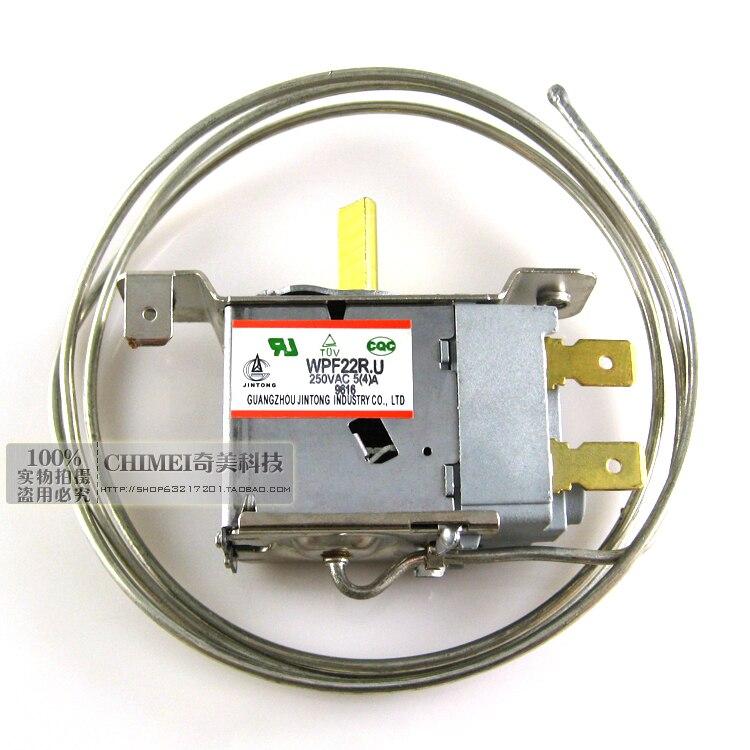 Refrigerator refrigerator thermostat WPF22R.U two-legged refrigeration pipe switch parts