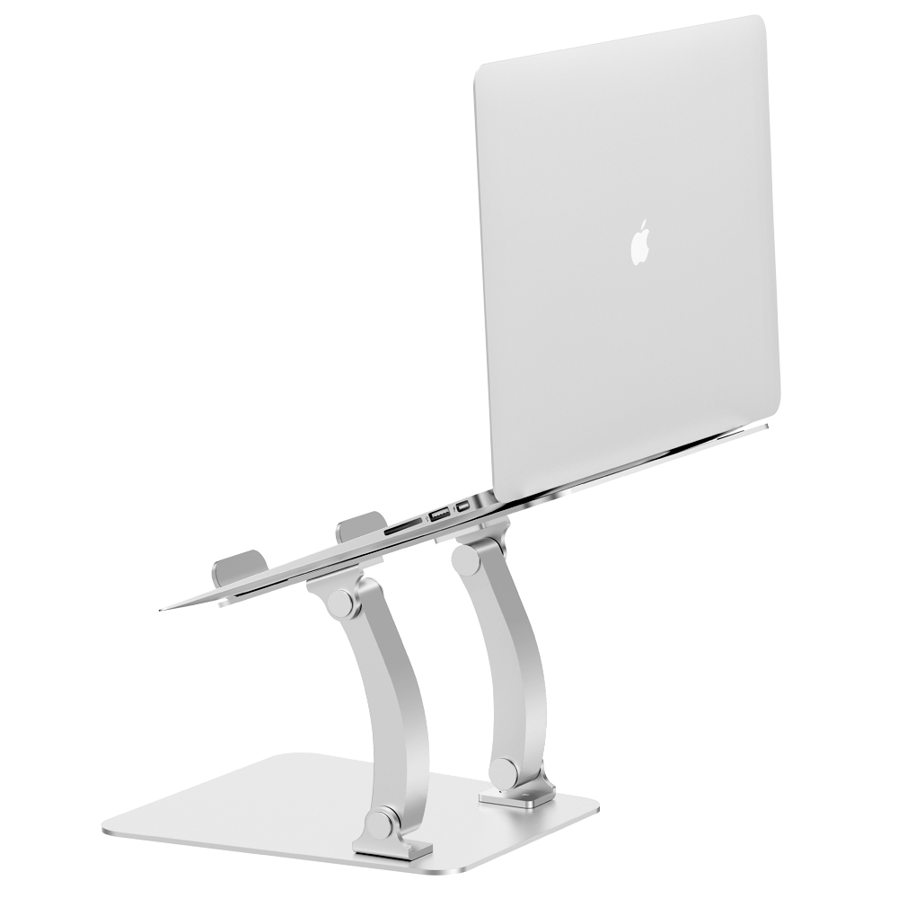 Aluminum lift laptop stand office shelves laptop desktop pad high cervical spine