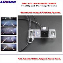 Liislee задняя камера для nissan patrol royale 2010 ~ 2016 интеллектуальная