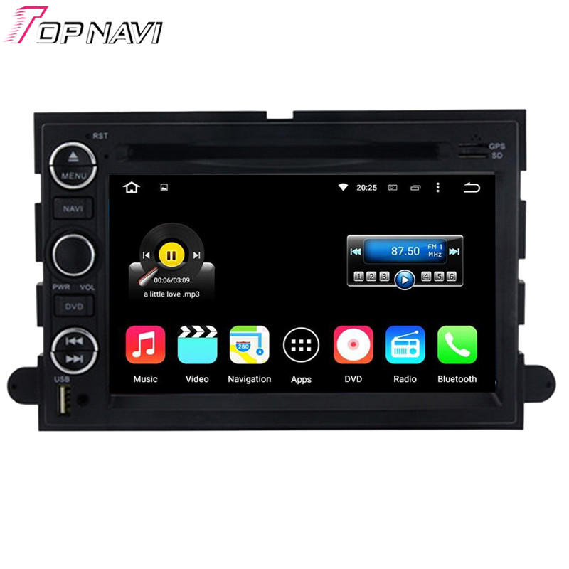 Quad Core Android 5 1 1 Car DVD For 2005 2009 Mustang 2007 2010 Expedition U324