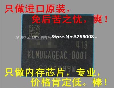 KLMDGAGEAC-B001 128G 100%New Origina 1/2pcs aoweziic 1pcs 2pcs 5pcs 10pcs 100% new original klmag2geac b001 bga memory chip klmag2geac b001 emmc font 16gb