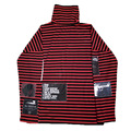 Bigbang Kpop Womens Men Sweatshirts Airbnb GD Top Harajuku Hoodies Pullover Turtleneck Red Striped Patchwork Cotton Tracksuit