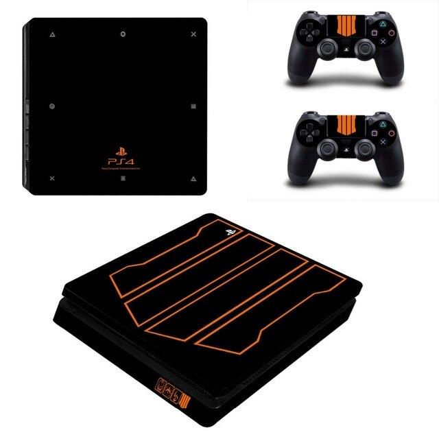 Zadzwoń naklejka na kontroler do PS4 naklejka na konsolę Sony PlayStation 4 i kontrolery kalkomanii naklejka PS4 Slim Vinyl Duty