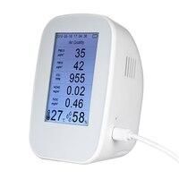 ЖК дисплей Портативный мониторинга качества воздуха детектор Indoor/Outdoor цифровой PM2.5 TVOC тестер газа монитор инструмент метр газоанализатор