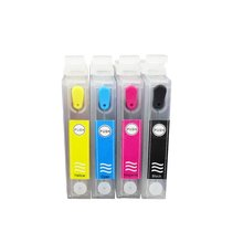 t0441 Refillable ink cartridge For Epson STYLUS C64/C66/84/C86/CX3600/CX4600/CX6400/CX6600  цена в Москве и Питере