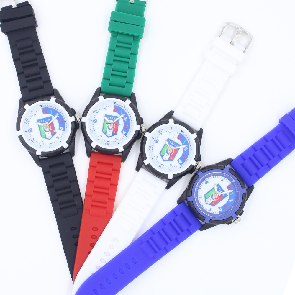 waterproof football product reloj boys kid watches baby quartz children watch casual soccer silicone wrist fashion for girls brand wristwatches