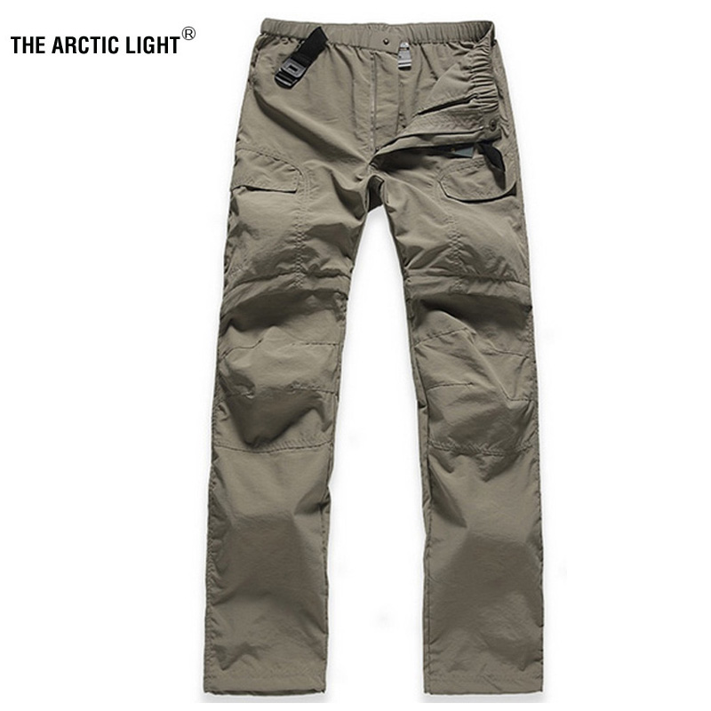 THE ARCTIC LIGHT Spring&Autumn Summer Woman Fast-dry Twenty minutes Pants Hiking Fishing Trekking Breathable Anti UV Female