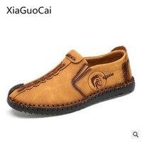 XiaGuoCai 새로운 2017 봄 남성 캐주얼 신발 통기성 정품