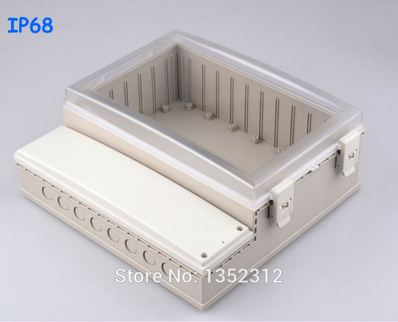 One pcs 291*301*120mm IP68 waterproof plastic box for electronic electrical meter housing DIY project box sealed control box critical success criteria for public housing project delivery in ghana