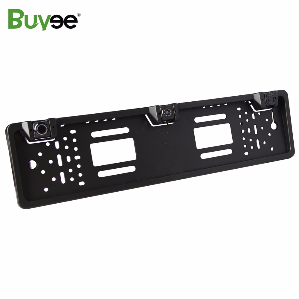 Buyee Vehicle Parking Sensor system 3 sensors Car Rear View Reverse Parking Camera EU License Number Plate Frame park sensoru in Vehicle Camera from Automobiles Motorcycles